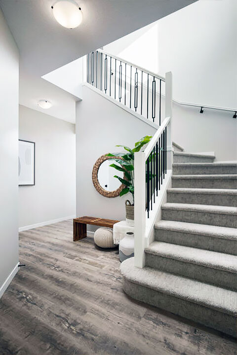 Popular New Home Stair Design